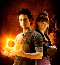 Goku e Bulma in «Dragonball Evolution»